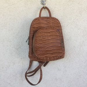 FREE PEOPLE  leather backpack